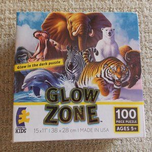 Glow In The Dark Animal Puzzle